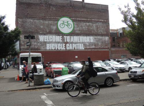 vélo populaire à Portland
