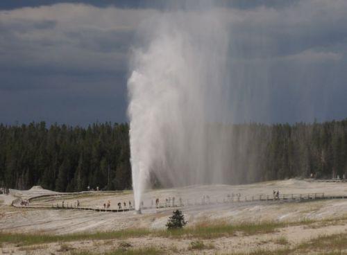 le grand geyser
