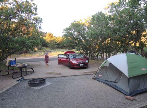 camping à Mesa Verde