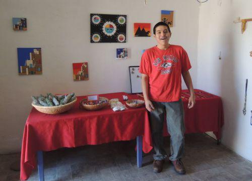 jeune vendeur Pueblo