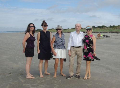 avec Laura, Paul et Vicky..