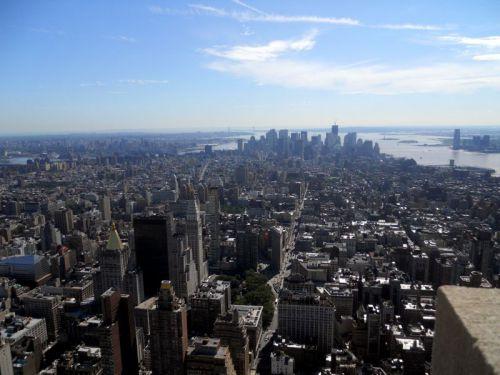 vue de l'Empirestate building