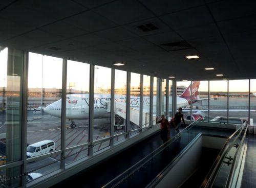 Le retour, l'avion nous attend