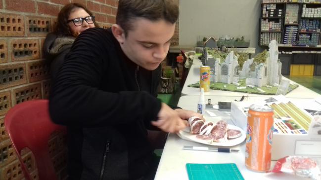 Le coupeur du saucisson