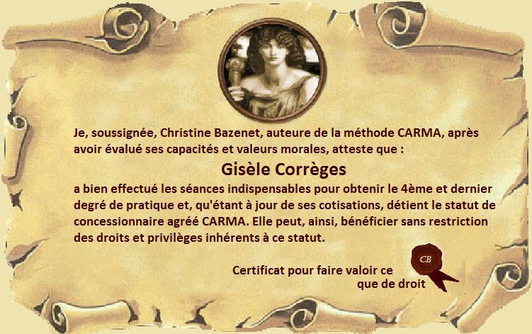 certificat Gisèle Corrèges 4eme degré.png