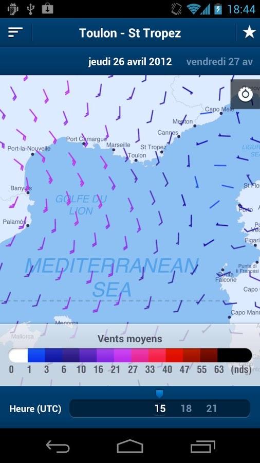 M teo consult application smartphone gpm guide de la plaisance mobile cartes camping - Meteo consult port camargue ...