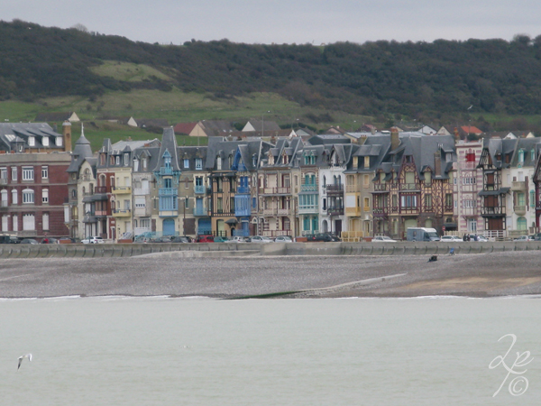 Escale côtière : Côte d'Albâtre Front de mer de Mers-les-Bains Département de la Somme Région Hauts-de-France France