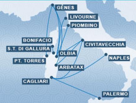 Carte Ferry Corse Italie.Ferries Ferry Pour La Corse La Sardaigne Et L Ile D