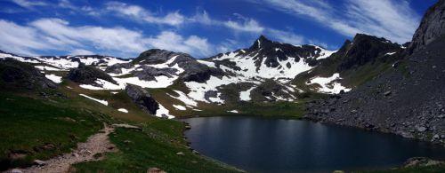 vue panoramique du lac Casterau