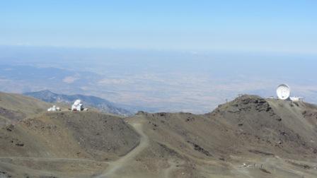 42 - Observatoire de Sierra Nevada depuis le sommet de la station.JPG