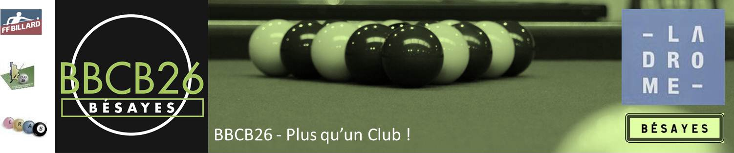 Blackball Billard Club BESAYES 26 - BBCB26