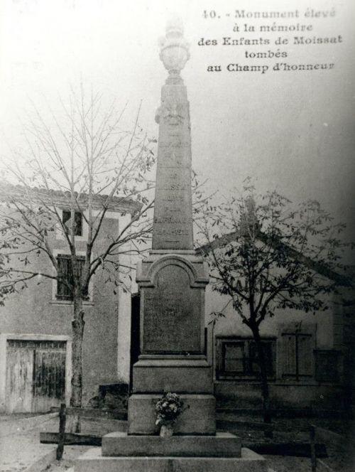 Monument Moissat Haut