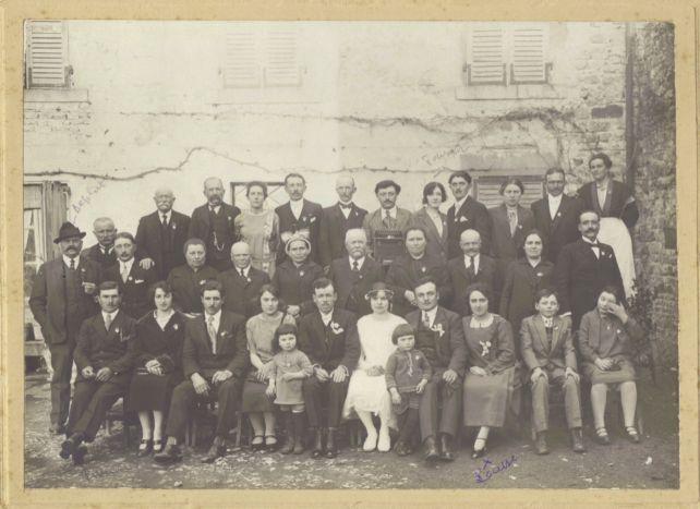 Mariage Nugeyre Belime 1923