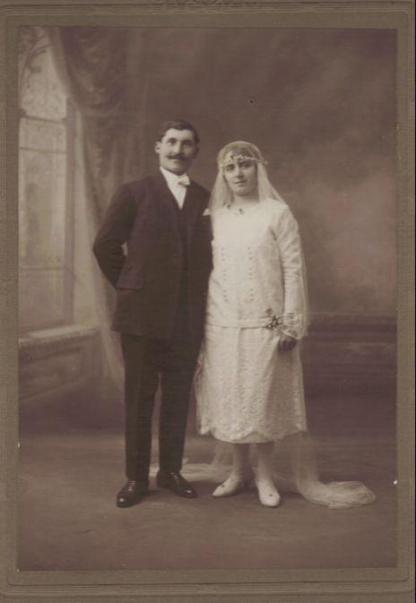 François Jury et Louise Romeuf 1927