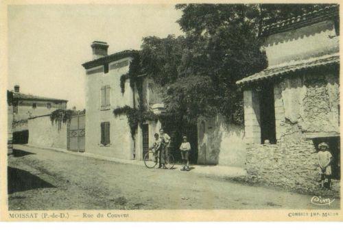 Moissat haut rue du couvent