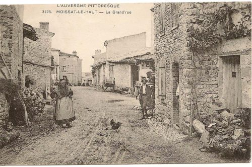 Rue des commerces Moissat haut