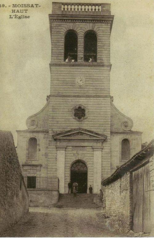 Eglise Moissat haut