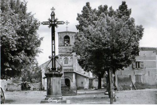 Eglise Moissat bas vers 1958
