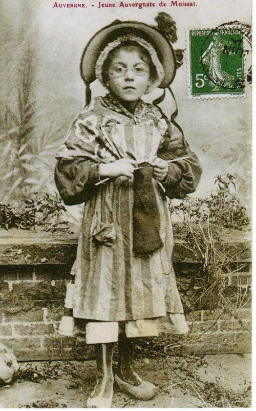 Jeune paysanne de Moissat.