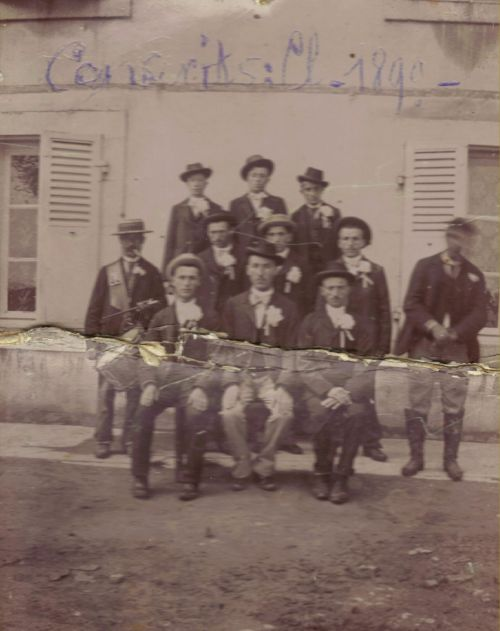 Conscrits classe 1899