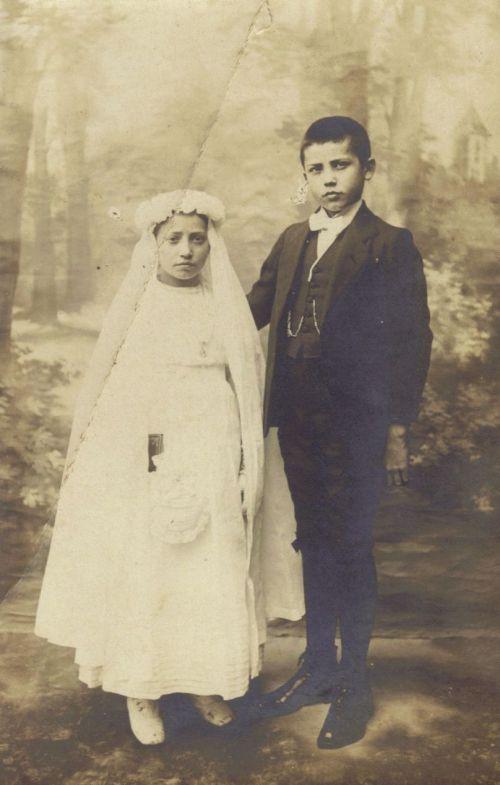 Joseph et Marinette Genillier 1922