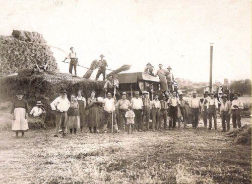 Batteuse aux Barguéres 1926