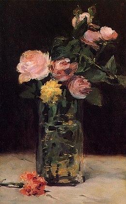 260px-Édouard_Manet_-_Roses_dans_un_vase_de_verre_(RWI_429)