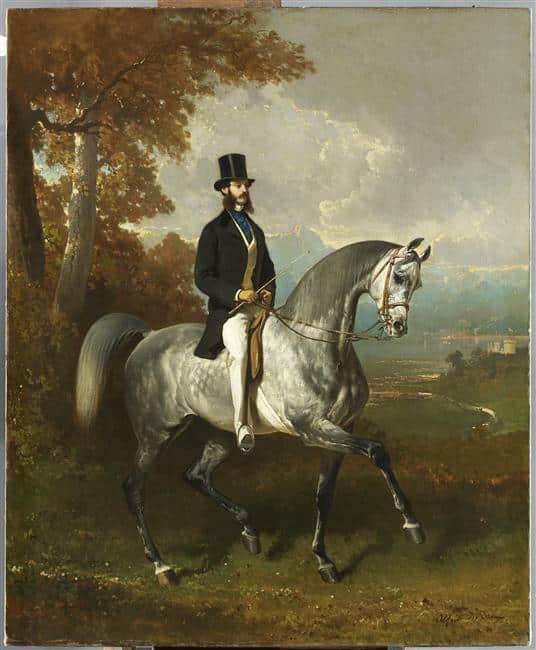 Alfred-De-Dreux-le-peintre-du-cheval