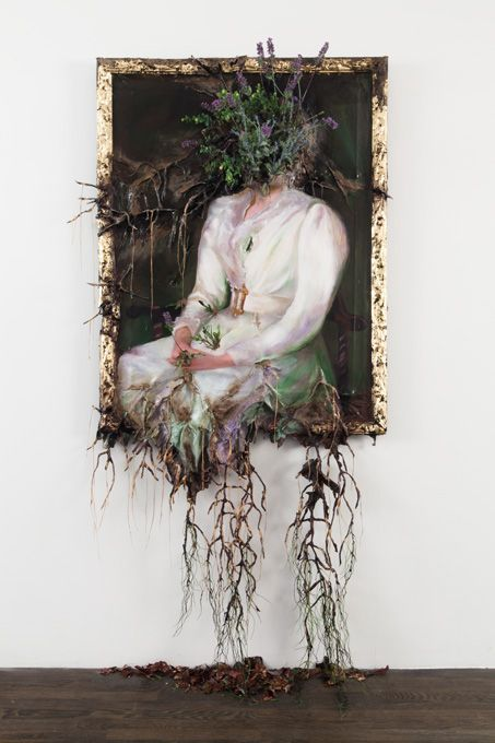 Arch2O-woman-in-white-flower-frenzy-valerie-hegarty