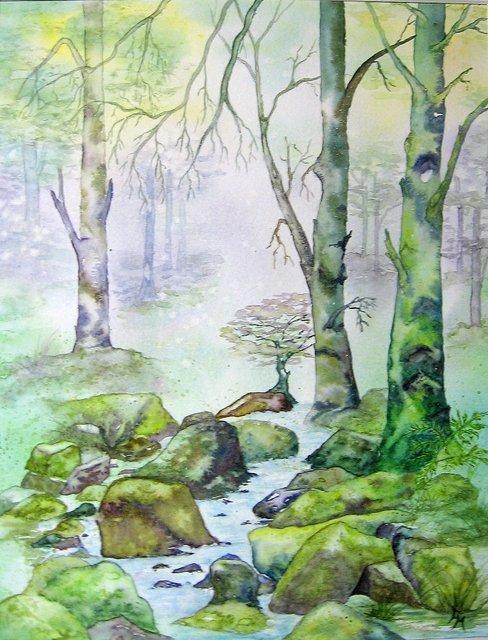 En forêt Vosgienne.JPG