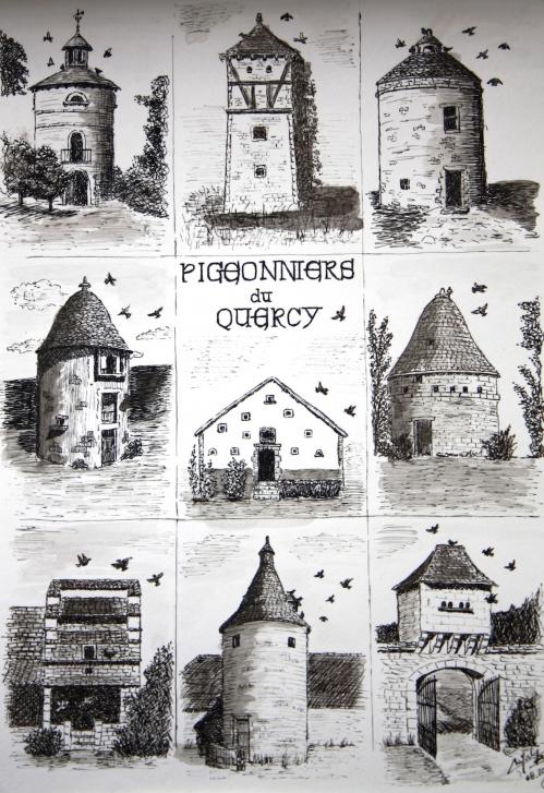 Les pigeonniers du Quercy.JPG