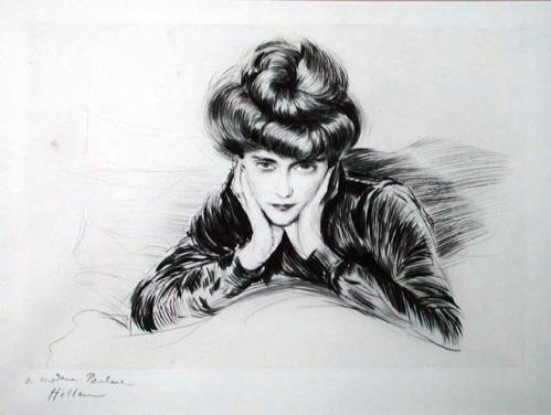 Le Visage Encadre (Madame Helleu) drypoint 27 x 39.5 cm.jpg