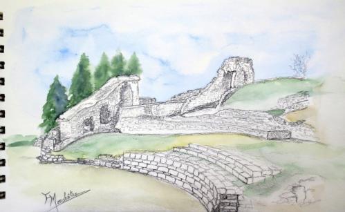 Ruines gallo-romaines carnet de voyage (8).JPG