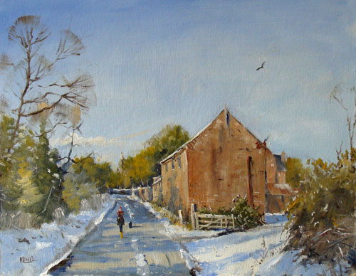 Winter-Walk-Staithe-Road-14x18-O-c.jpg
