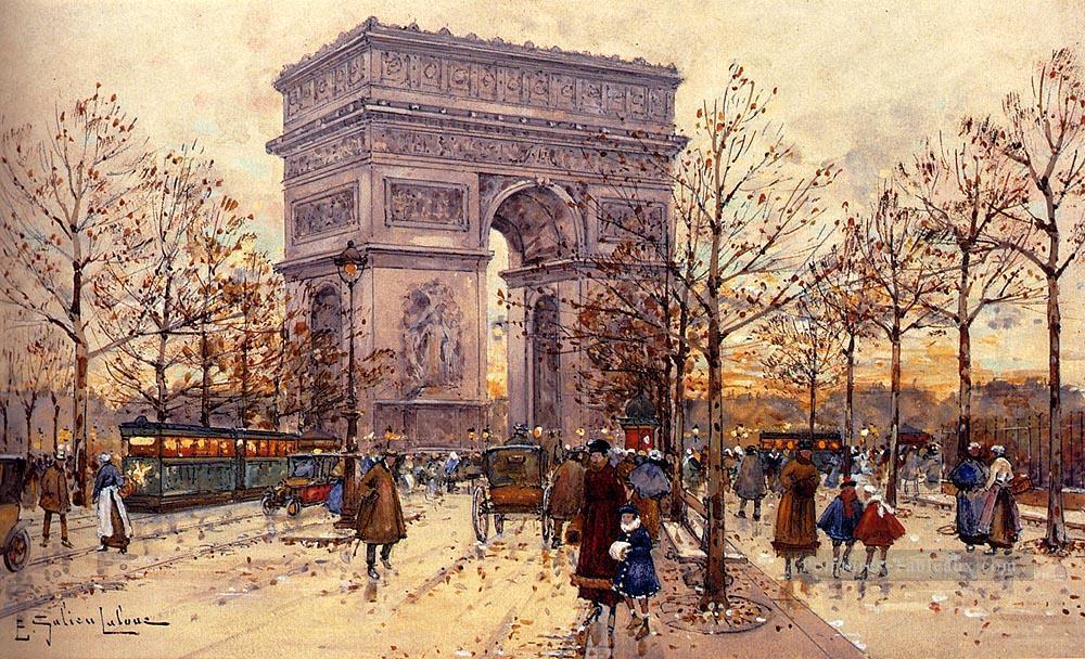 6-Arc-De-Triomphe-Parisian-gouache-impressionism-Eugene-Galien-Laloue.jpg