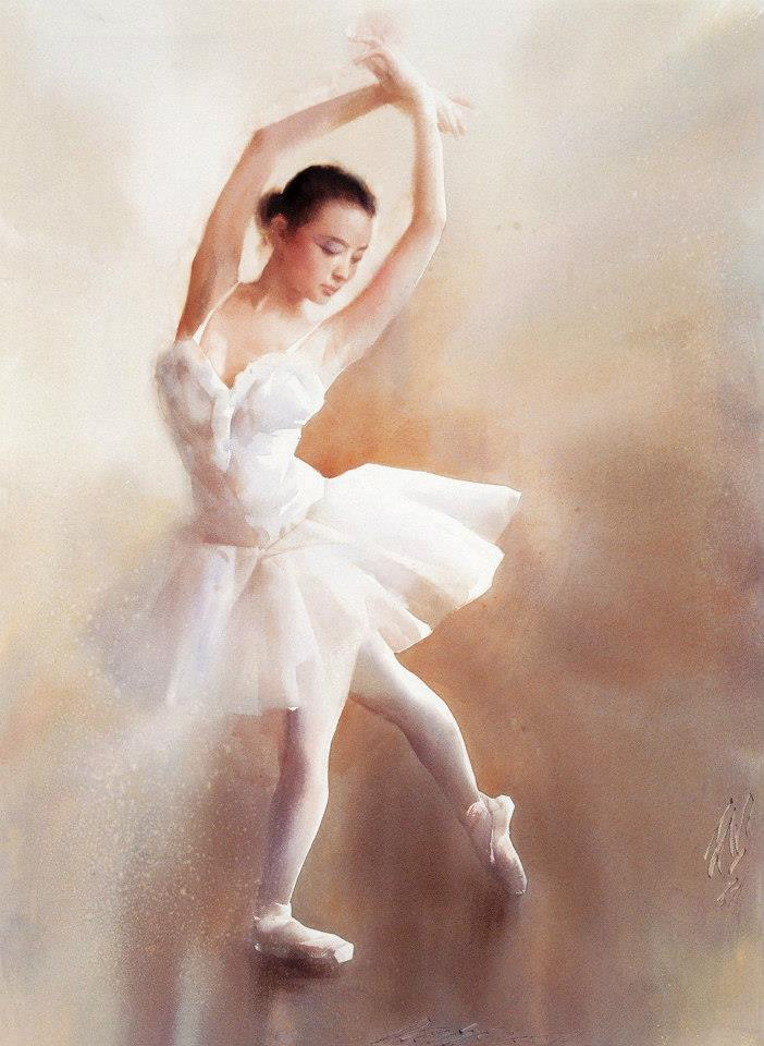 Liu Yi 1958 - Chinese Watercolour painter - Tutt'Art@.jpg