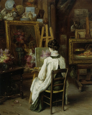 Claude Eugene (1841-1922) In The Artist's Studio.jpg