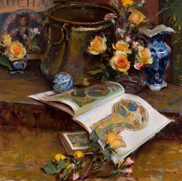 Daniel F. Gerhartz - Ladies and flowers  - Tutt'Art@  (8).jpg