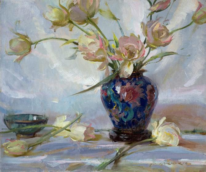 Daniel F. Gerhartz - Ladies and flowers  - Tutt'Art@  (29).jpg