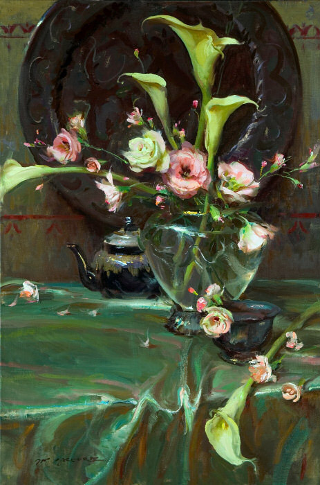 Daniel F. Gerhartz - Ladies and flowers  - Tutt'Art@  (30).jpg