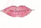 bouche peinte
