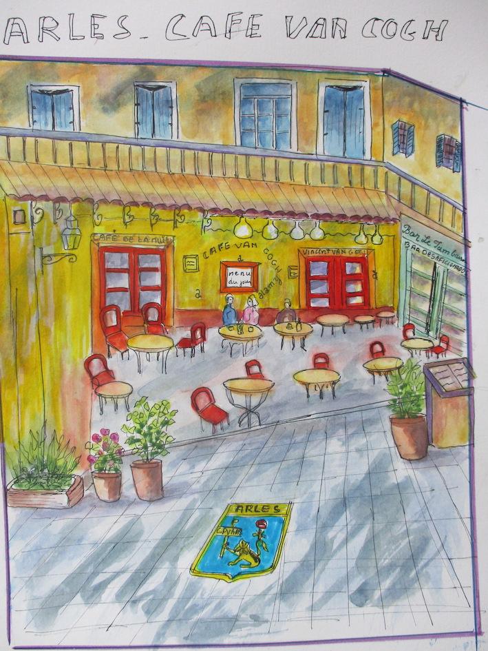 CAFE VANGOGH ARLES ETE 2020