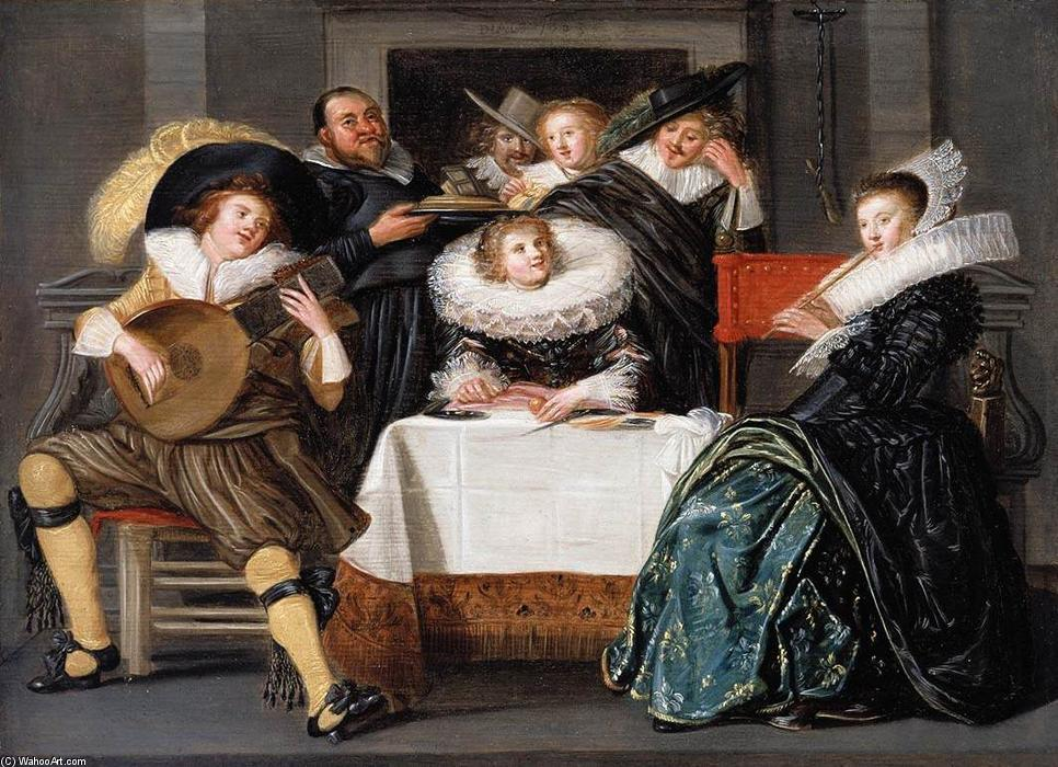 Dirck-Hals-A-Merry-Company-Making-Music