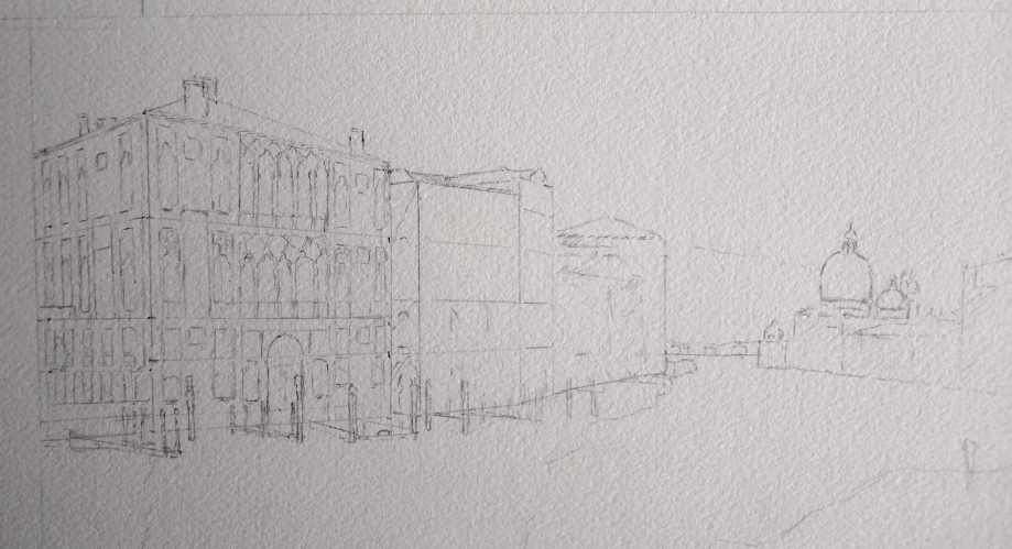 Grand Canal Dessin complet