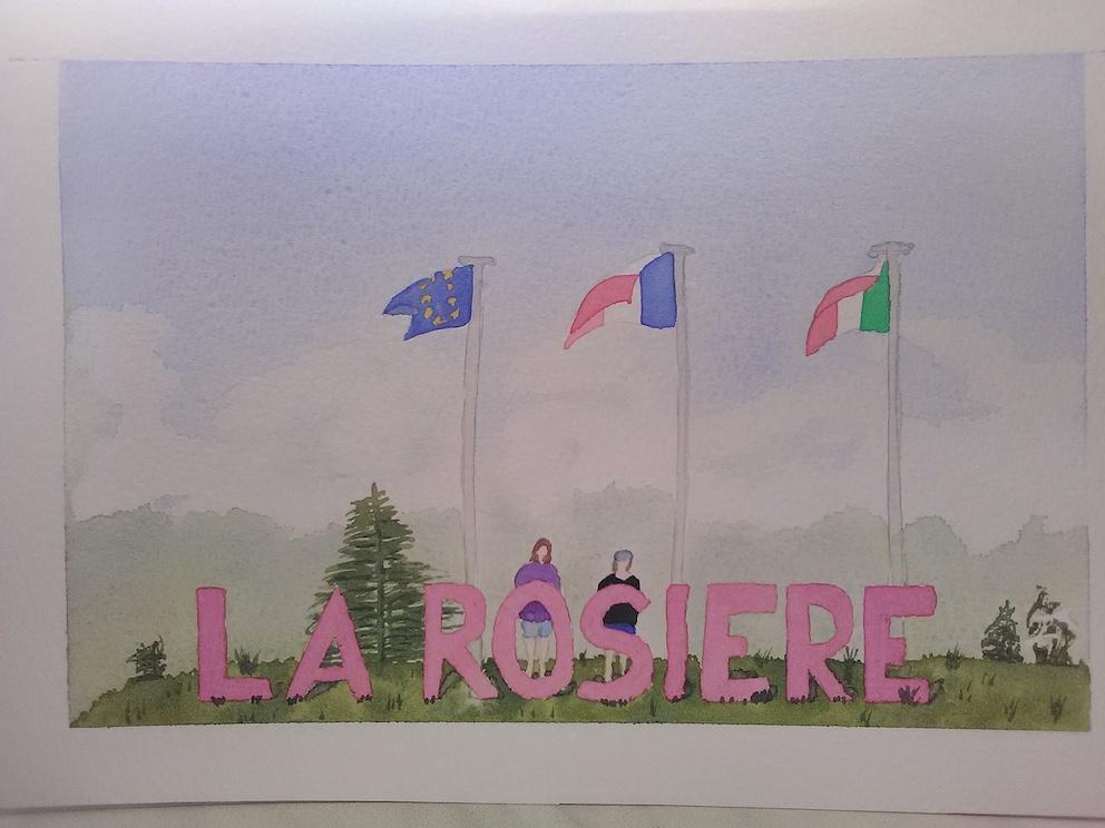 La Rosière aquarelle