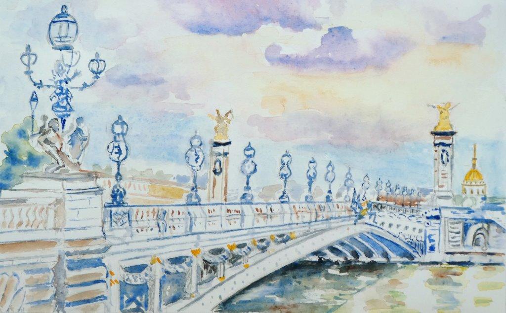 le pont aquarelle 003