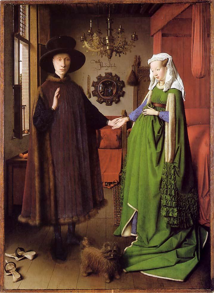 Les-époux-Arnolfini-Jan-Van-Eyck-1434