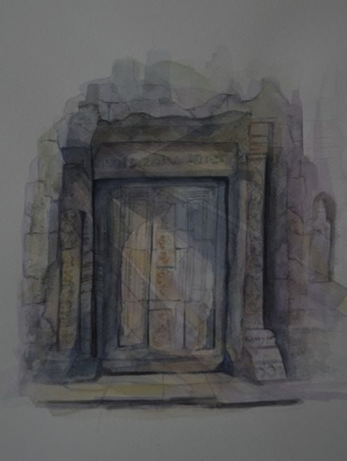 Porte d'ANGKOR