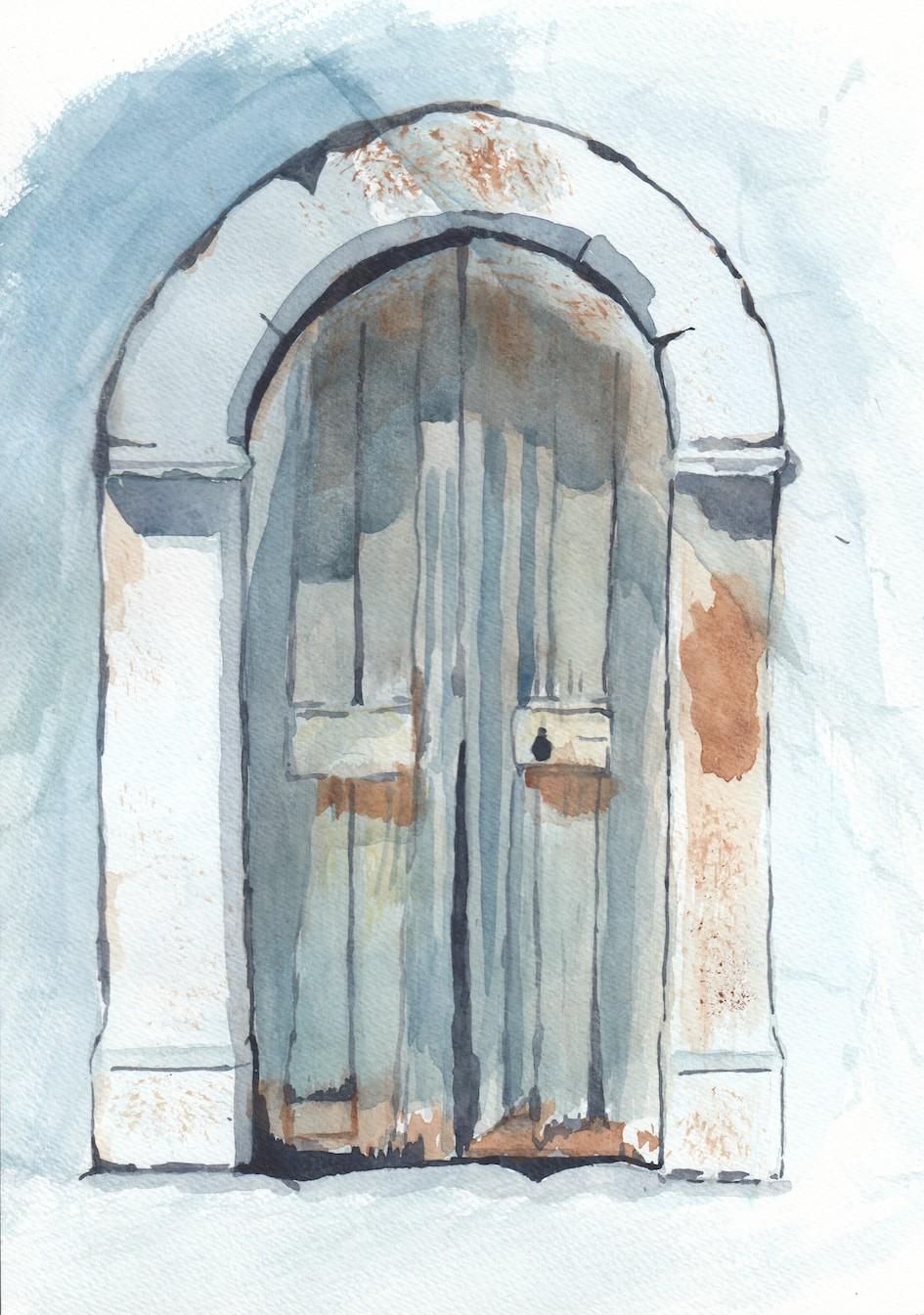 Porte Bleue  CP fev 21