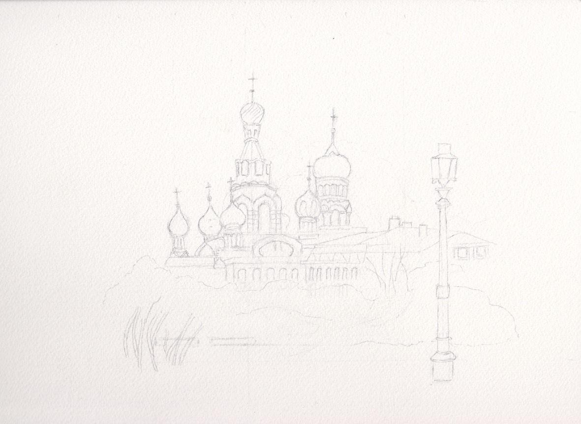 Russie dessin